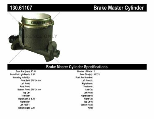 Brake Master Cylinder-Premium Master Cylinder Preferred fits 64-66 Mustang