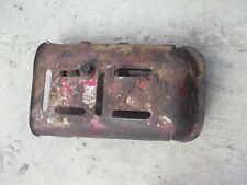 Vintage Original Koyker Grease Gun Pocket Holder Ih Farmall Jd Ac Ford Tractor