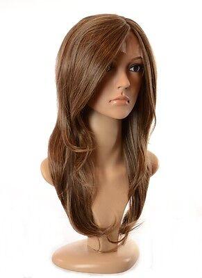 Long Layered Wavy Lace Front Tamera Wig | Human Hair Blend | 4 Shades