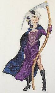 Discworld Death of Rats counted cross stitch kit//chart 14s aida