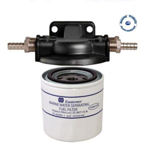 Easterner Water Separator Fuel Filter Kit Mercury 35-807172 /& 35-60494-1