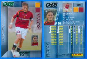 152 CALCIO CARDS 2005 ROMA Panini Card n TOTTI