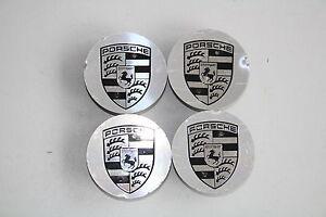 4 x Originale Porsche Macan Coprimozzo 95B601151 Argento/circa 65 Mm