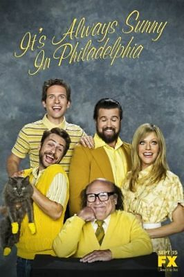 It/'s Always Sunny in Philadelphia Large Poster Art Print Maxi A1 A2 A3 A4