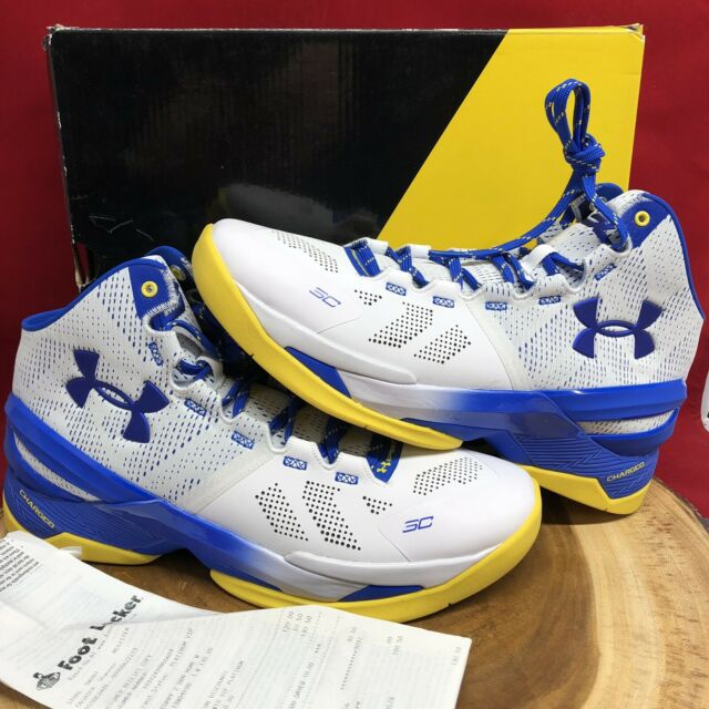 Under Armour Curry 2 Dub Nation White
