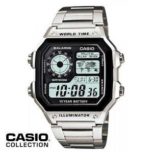Reloj-Digital-CASIO-AE-1200WHD-1A-Hora-Mundial-5-Alarmas-Temporizadores
