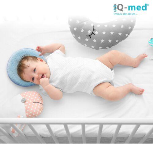 Babykissen von iQ-med®aus Memoryschaumgegen VerformungLagerungskissen
