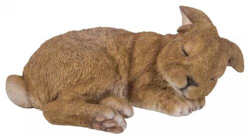 Vivid Arts Rabbits Bunny Teacup Cute Playful Sleeping Resin Ornament Realistic