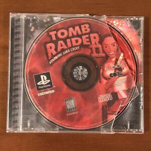 Tomb Raider Ii 2 Starring Lara Croft Sony Playstation 1 1997