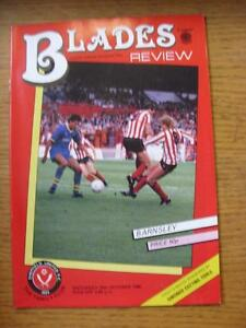 19101985 Sheffield United v Barnsley  No Apparent Faults - <span itemprop=availableAtOrFrom>Birmingham, United Kingdom</span> - Returns accepted within 30 days after the item is delivered, if goods not as described. Buyer assumes responibilty for return proof of postage and costs. Most purchases from business s - Birmingham, United Kingdom