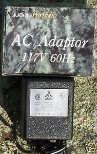 2600 Power Pack for Atari Video Game System New AC Adapter Plug NB Clone