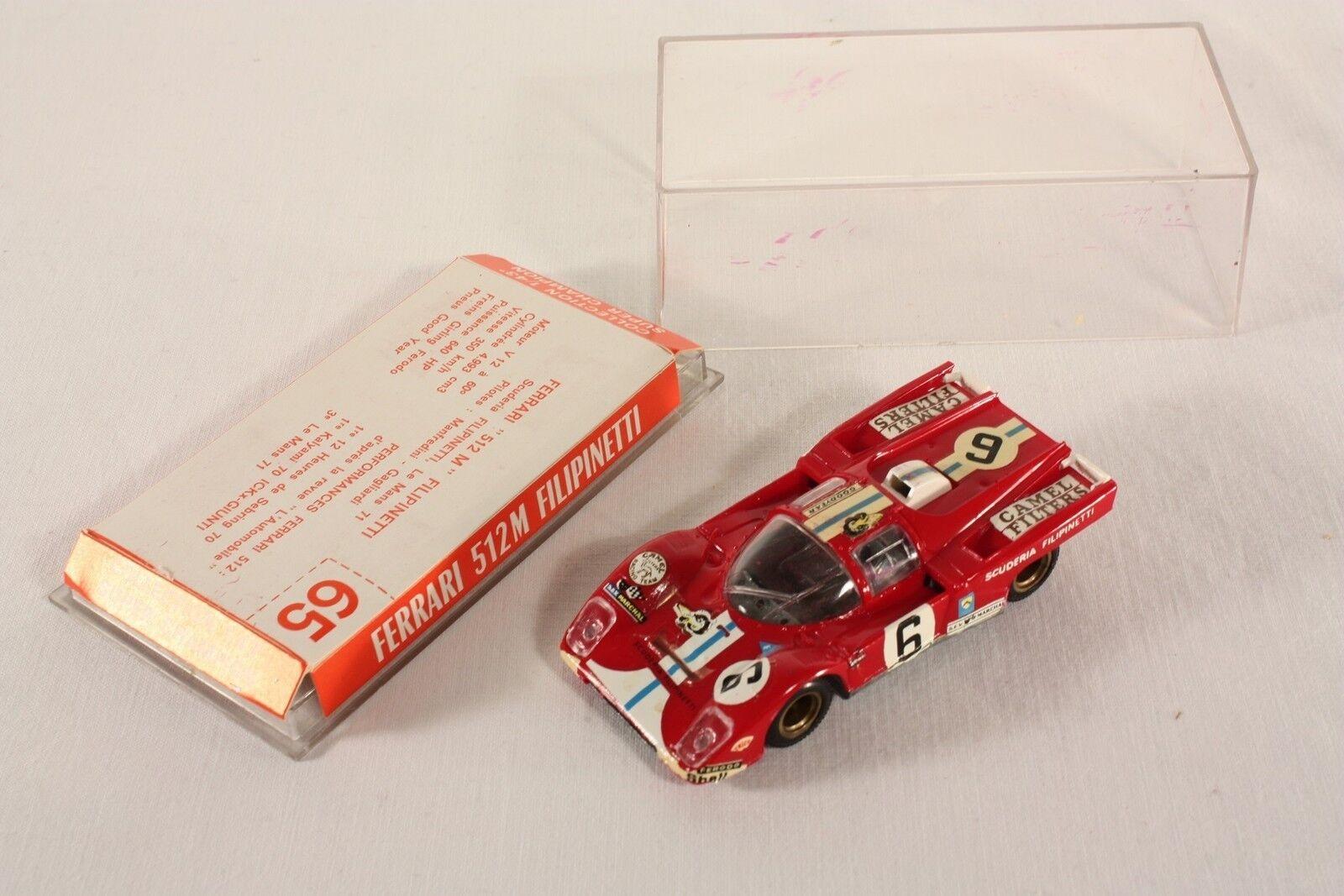 Safir 65, Ferrari Ferrari Ferrari 512 M Filipinetti, Made in France, rare, Mint in Box    ab768 1b856c