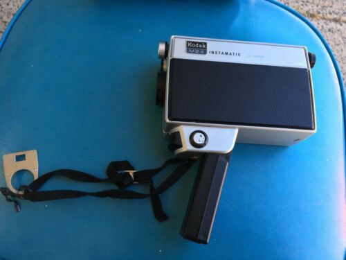 Vintage Kodak Instamatic Movie Camera M24 Super 8 Made In USA Collectors