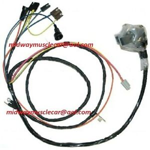 engine & front light wiring harness kit v8 71 chevy ... 1967 chevelle wiring harness diagram 71 chevelle wiring harness #10