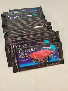 Lot-of-27-Corvette-Heritage-Collection-Collector-Cards-1953-1996-NIP