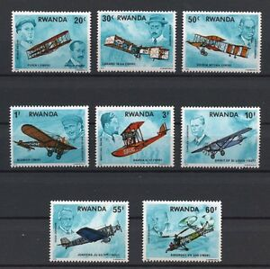 History-of-Aviation-mnh-set-of-8-stamps-1978-Rwanda-885-92