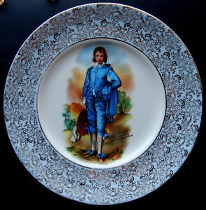 Blue-Boy-Gainsborough-Mulder-amp-Zoon-Amsterdam-Holland-10-3-4-034-Collector-Plate