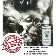 Hydrographic Film Water Transfer Hydro Dip 6oz Activator Lost Souls Hydro Kit