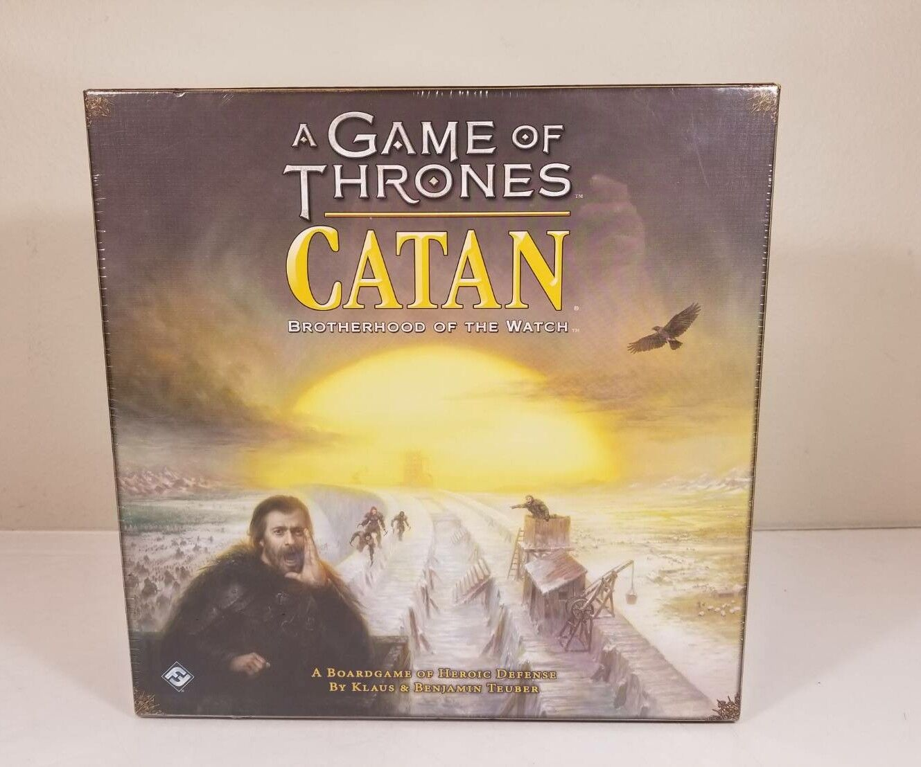 A Game of Thrones Catan Bredherhood of the Watch Board Game NEW