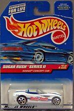 Hot Wheels Sugar Rush Series 2 - 1:64 Baby Ruth Dodge Concept Car - #4 of 4 Cars