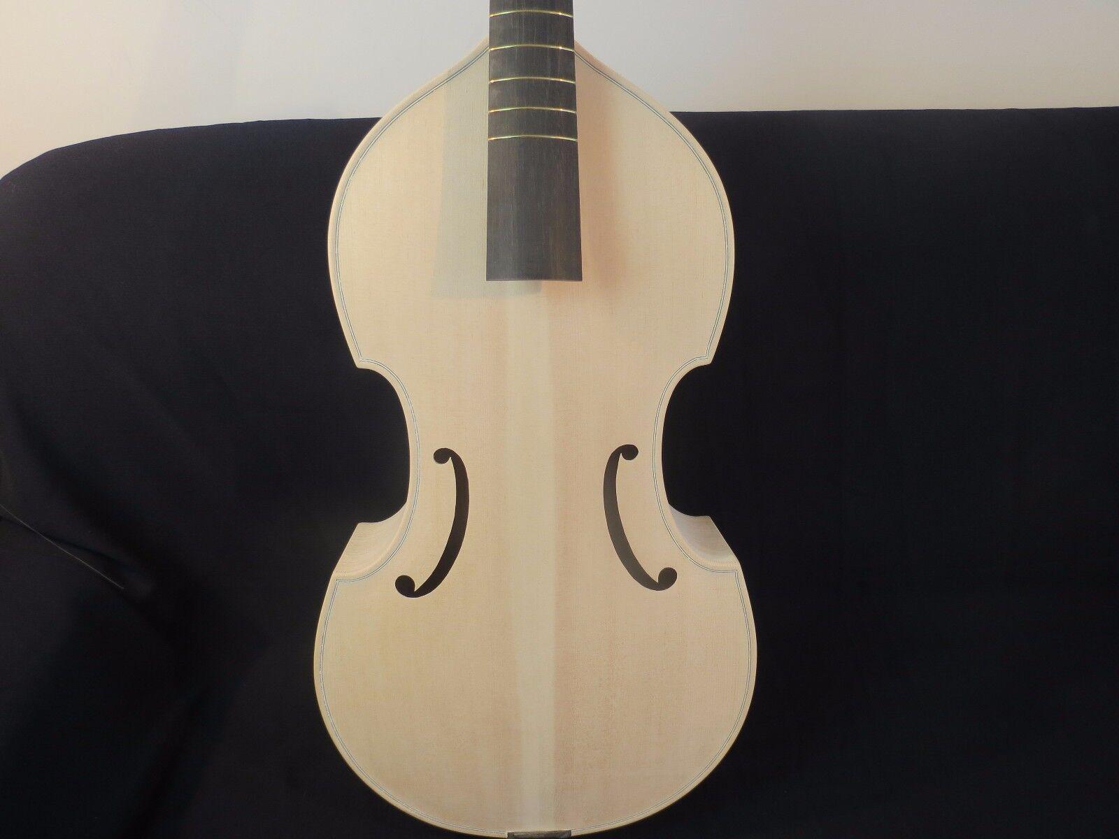 Canción de estilo barroco inacabado marca Maestro 6 Cuerdas Cuerdas Cuerdas 27  púrpura da gamba 8165aa