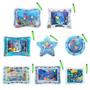 60 x 50 cm Baby Kinder Wasser Spielmatte Wasserkissen Aufblasbare Spielzeug !