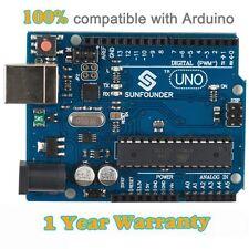New SunFounder Lab Arduino Uno R3 Development Board  ATMEGA328P ATMEGA16U2 2012