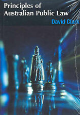 Principles of Australian Public Law by David Clark (Paperback, 2003)