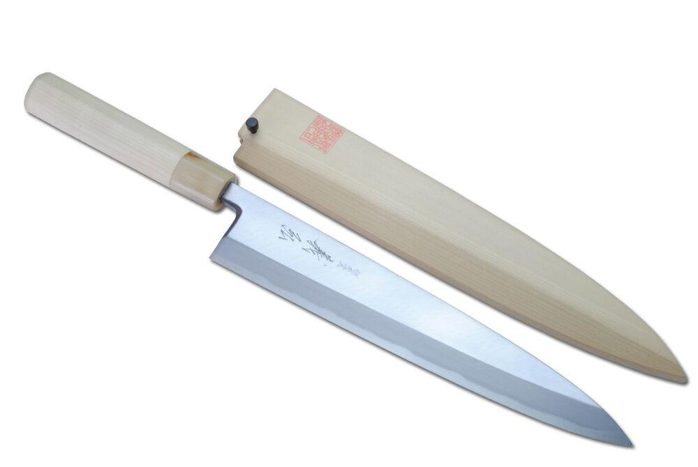 yoshihiro kasumi mioroshi fillet sushi chef knife 210mm made in japan ebay. Black Bedroom Furniture Sets. Home Design Ideas