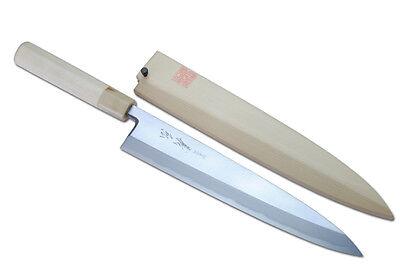 "Yoshihiro Kasumi Mioroshi- fillet Sushi chef knife 9.5"" (240mm) Made in japan"