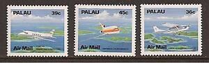 PALAU-ISLANDS-039-s-C18-20-MNH-Airmail-Airplanes