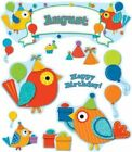 Boho Birds Birthday Bulletin Board Set 9781483802183 Poster 2013