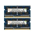 HYNIX 8GB 2x4GB PC3-10600 DDR3 1333MHZ 204pin laptop RAM MEMORY APPLE MAC ETC
