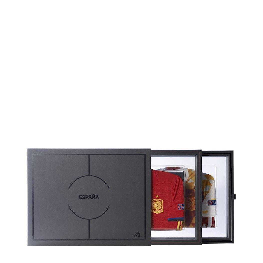 Adidas Spanien Collector Authentic Jersey Heim und Awaytrikot EM2016 Größe M