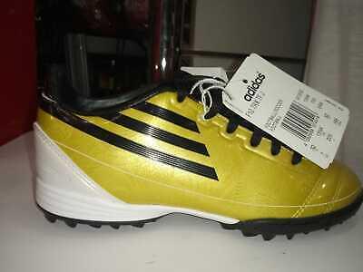 Dettagli su scarpe calcetto calcio adidas bambino F10 TRX TF J G13532