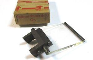 1x-Spaneschutzschild-75-x-55-mm-Grose-3-mit-Klemmfus-Neu-H23759