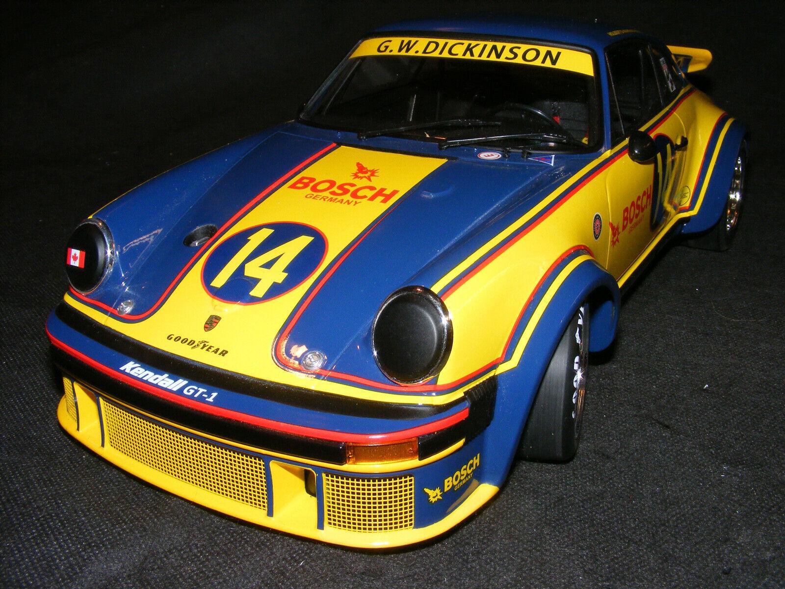 alta calidad y envío rápido Porsche 934, Grande 1 12th escala Al Holbert Holbert Holbert 1976 Minichamps.  calidad fantástica