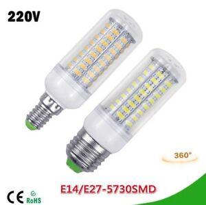 LED-Birne-Leuchtmittel-Lampe-E14-E27-Sparbirne