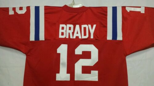 00 New England Patriots Football Jersey Name&Number SEWN ON.4XL