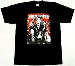 STREETWISE-THE-AMERICAN-WAY-T-shirt-Urban-Streetwear-Tee-Mens-L-4XL-Black-New