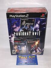 RESIDENT EVIL THE ESSENTIALS SONY PS2 NTSC USA VERSION NEW SEALED RARE