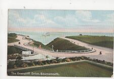 Overcliff Drive Bournemouth Vintage Postcard Beale 274b