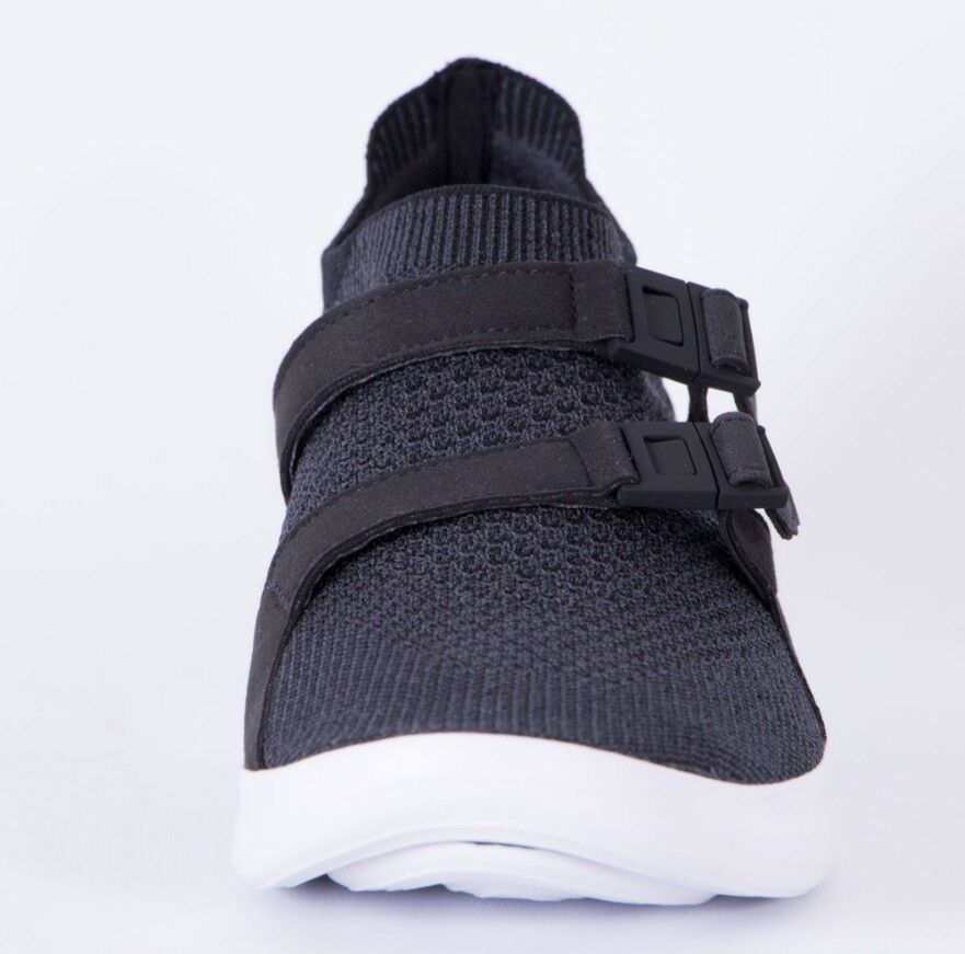 Nike Air Sockracer Flyknit Größe 7 UK Anthracite Anthracite UK Genuine Authentic  Herren Trainers 8715ec