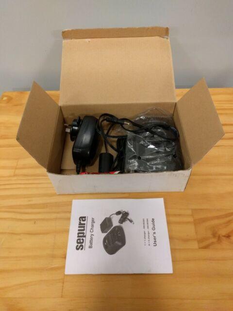 Sepura 300-00818 Double Pocket Desktop Charger for Sepura Walkie Talkie STP8000