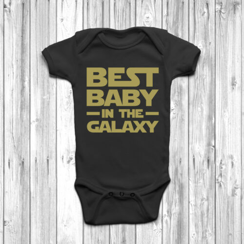 Best Baby in the Galaxy Baby Baby Grow Body Costume Gilet Cadeau Mignon Star Wars