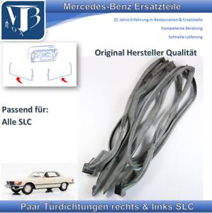 Mercedes-Benz-W107-C107-SLC-Coppia-Guarnizioni-Portiere-IN-Originale