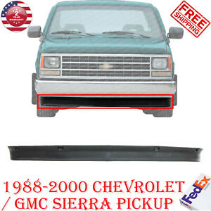 Front Bumper Lower Valance Air Deflector For 1988 2000 Gmc Sierra Chevy Pickup Ebay