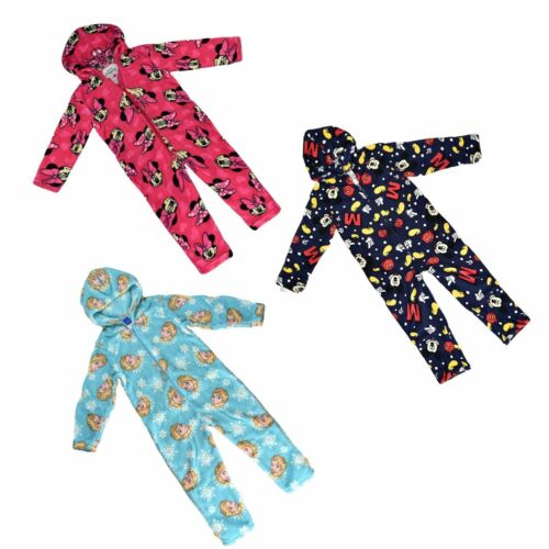 Original Disney Kids Pyjamas Garçons Filles Combinaison congelés//Minnie//Mickey Mouse
