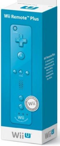 Nintendo Wii +Wii U Wii-U Remote Plus blau Top Zustand