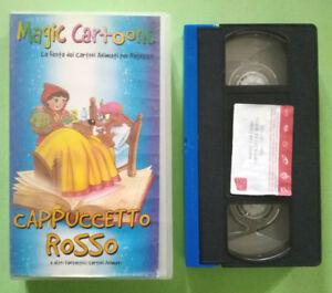 VHS-Film-Ita-Animazione-CAPPUCCETTO-ROSSO-Magic-Cartoons-AVO-FILM-no-dvd-cd-V67